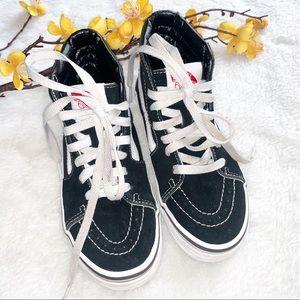Like NEW VANS SK8 1 Kids High Tops Suede Sneaker
